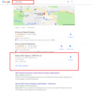 Best SEO agency in Noosa area